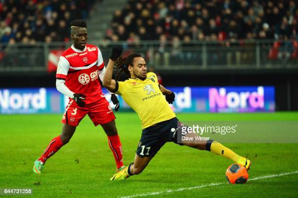 Roy CONTOUT / Arthur MASUAKU Valenciennes / Sochaux 26eme journee de Ligue 1 Photo Dave Winter / Icon Sport