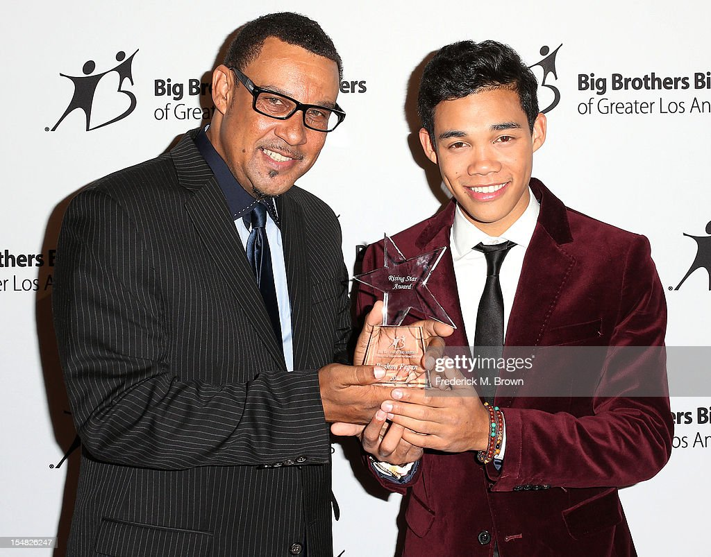 Roy Fegan and Roshon Fegan attend Big Brothers Big Sisters Of Greater Los Angeles 2012 Stars Gala at The Beverly Hilton Hotel on October 26 2012 in...