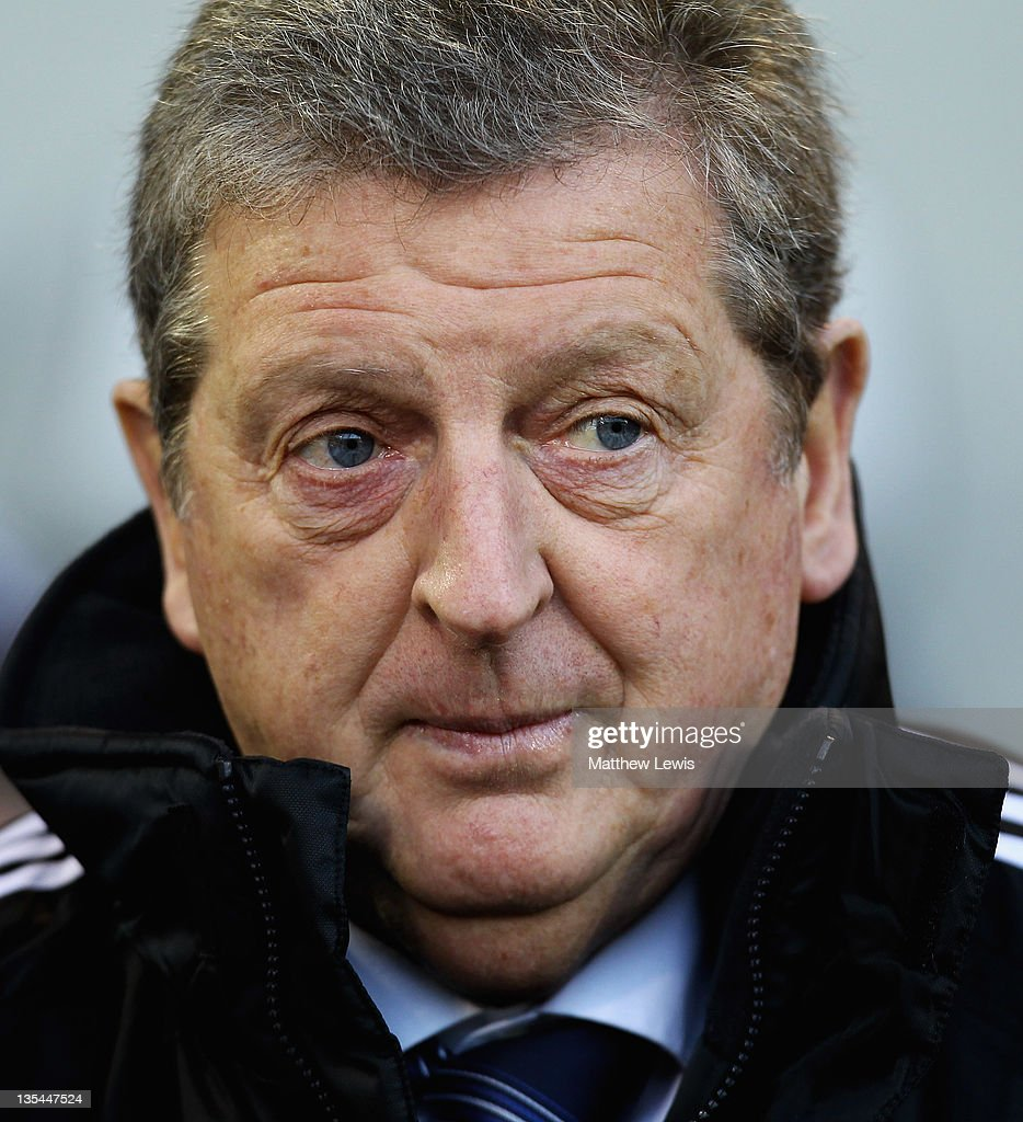 Roy Hodgson, manager of West Bromwich Albion looks on during the Barclays Premier League match between West Bromwich Albion and Wigan Athletic at The Hawthorns on December 10, 2011 in West Bromwich, England.