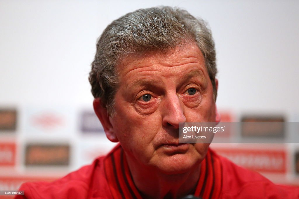 Roy Hodgson the manager of England faces the media during the England press conference at the Ullevaal Stadion on May 25, 2012 in Oslo, Norway.