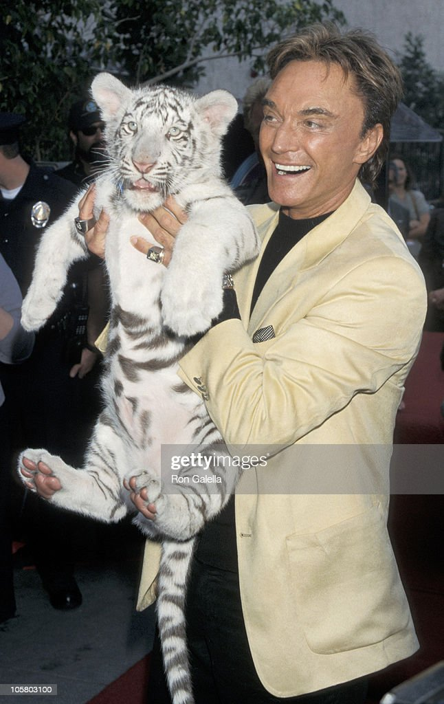 Siegfried & Roy Honored with a Star on the Hollywood Walk of Fame