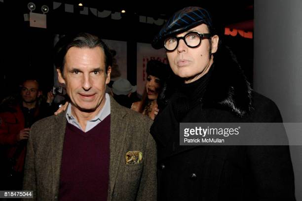 Roy Kean and Patrick McDonald attend SUSANNE BARTCH and DAVID BARTON host the Launch of REEM at David Barton Gym on January 22 2010 in New York City
