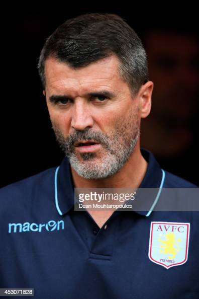 Roy Keane Assistant manager of Aston Villa looks on during the pre season friendly match between FC Groningen v Aston Villa held at the Euroborg on...