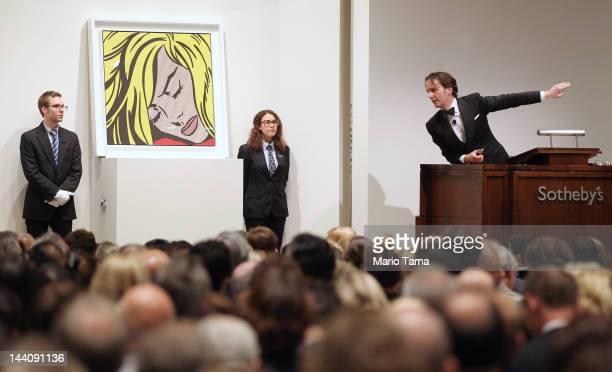 Roy Lichtenstein's 'Sleeping Girl' is auctioned at Sotheby's on May 9 2012 in New York City The market for contemporary art has been on fire in...