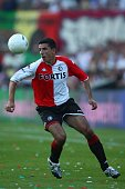 Roy Makaay of Feyenoord during the Port of Rotterdam Tournament match between Feyenoord and Liverpool at the De Kuip Stadium on August 5 2007 in...