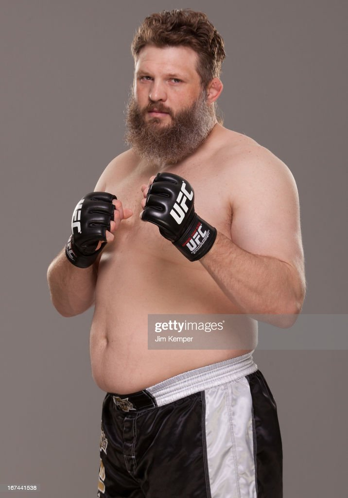 <a gi-track='captionPersonalityLinkClicked' href=/galleries/search?phrase=Roy+Nelson&family=editorial&specificpeople=4230645 ng-click='$event.stopPropagation()'>Roy Nelson</a> poses for a portrait on April 24, 2013 in Jersey City, New Jersey.