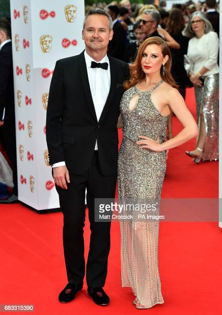 Roy Price and Lila Feinberg arriving for the Virgin TV British Academy Television Awards 2017 held at Festival Hall at Southbank Centre London