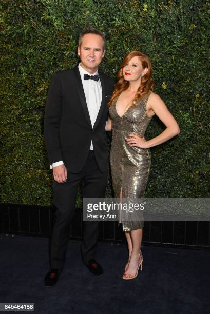 Roy Price and Lila Feinberg attend Charles Finch and CHANEL PreOscar Awards Dinner at Madeo Restaurant on February 25 2017 in Los Angeles California