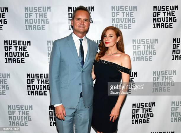 Roy Price and Lila Feinberg attend Museum of the Moving Image Award for Achievement in Media and Entertainment at Park Hyatt Hotel New York on June 6...