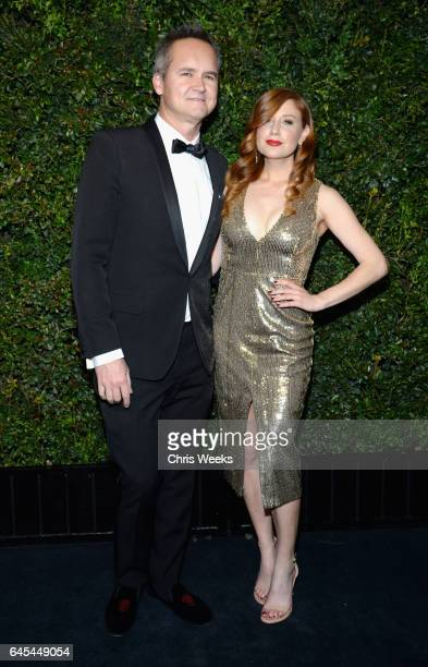 Roy Price and Lila Feinberg attend the Charles Finch and CHANEL PreOscar Awards Dinner at Madeo Restaurant on February 25 2017 in Beverly Hills...