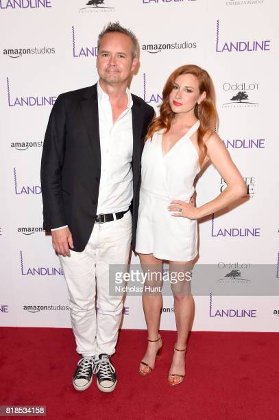 Roy Price and Lila Feinberg attend the 'Landline' New York Premiere at The Metrograph on July 18 2017 in New York City