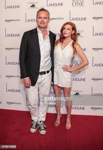 Roy Price and Lila Feinberg attend the New York premiere of 'Landline' at The Metrograph on July 18 2017 in New York City