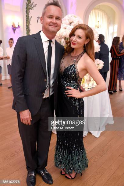 Roy Price and Lila Feinberg attend the Vanity Fair and HBO Dinner celebrating the Cannes Film Festival at Hotel du CapEdenRoc on May 20 2017 in Cap...
