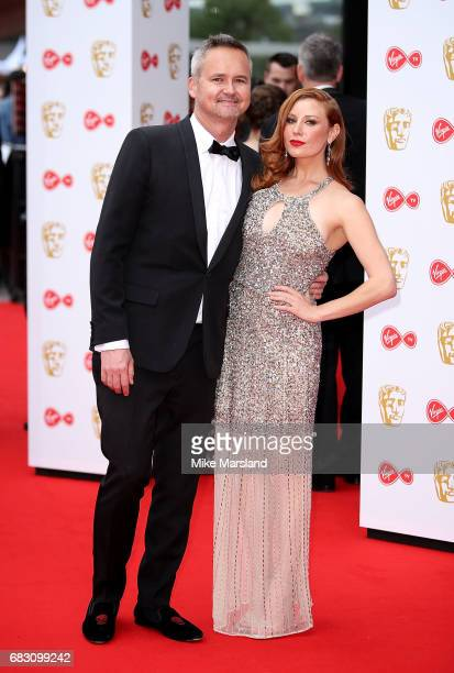 Roy Price and Lila Feinberg attend the Virgin TV BAFTA Television Awards at The Royal Festival Hall on May 14 2017 in London England