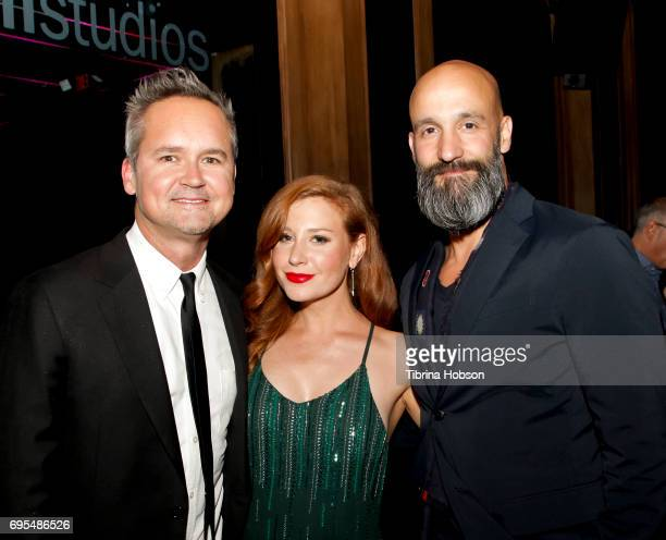 Roy Price Lila Feinberg and Jason Ropell attend the premiere of Amazon Studios and Lionsgate's 'The Big Sick' afterparty on June 12 2017 in Hollywood...