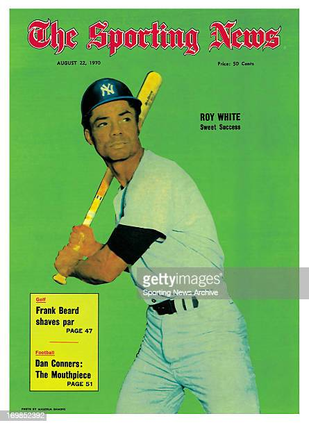 New York Yankees LF Roy White August 22 1970 Roy White Sweet Success