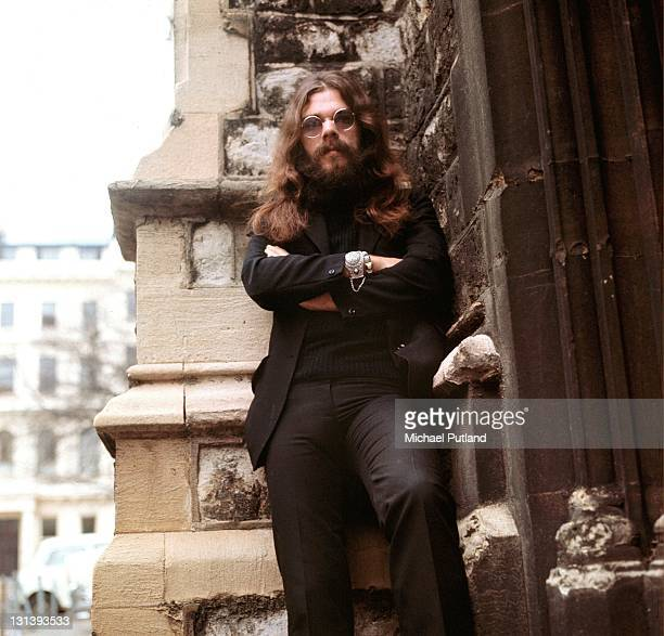 Roy Wood of The Move Electric Light Orchestra and Wizzard portrait London 18th November 1970