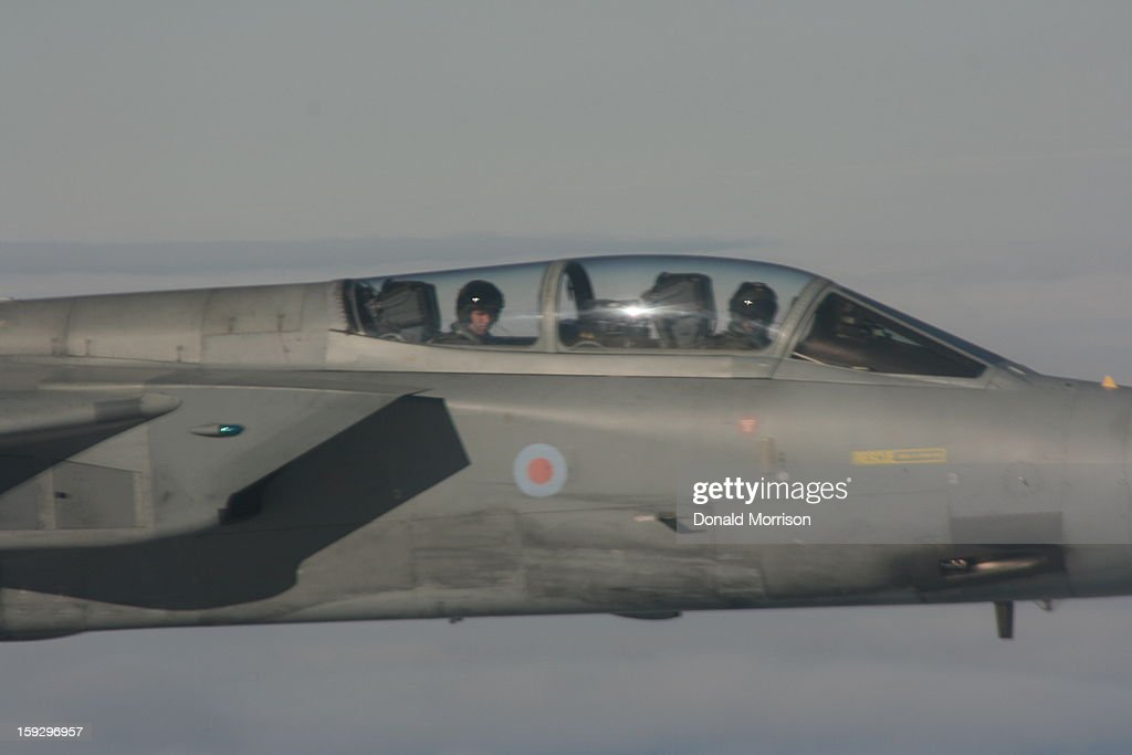 CONTENT] Royal Air Force Tornado F3 flying over the Falkland Islands