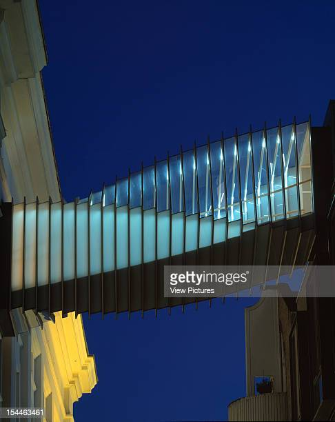 Royal Ballet School London United Kingdom Architect Ecd Wilkinson Eyre Westwood Royal Ballet School Dusk Detail From Floral Street