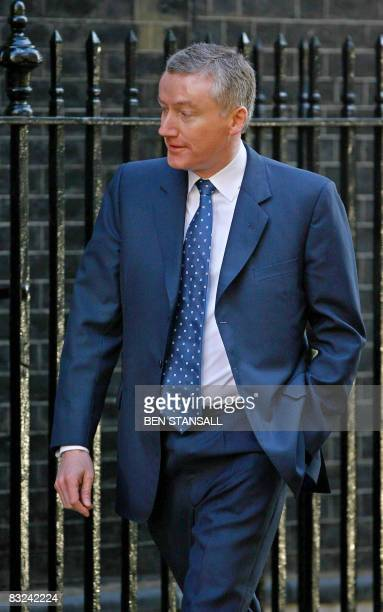 Royal Bank of Scotland Group Chief Executive Sir Fred Goodwin arrives at 10 Downing Street in London on April 15 2008 Royal Bank of Scotland on...
