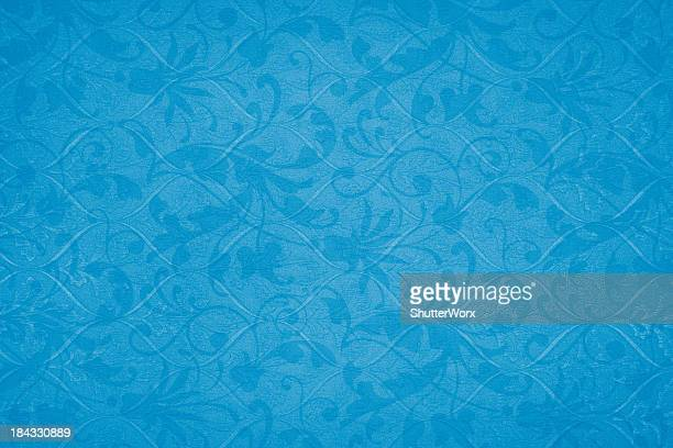 Royal Blue Victorian Background