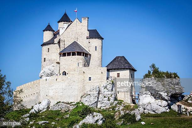 Royal Castle in Bobolice, Poland