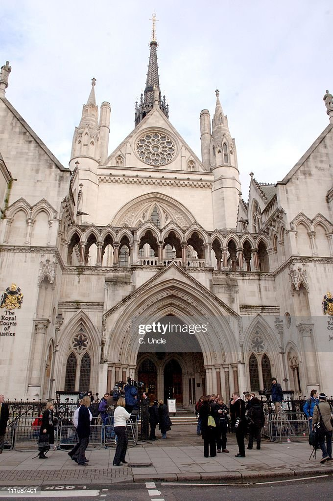 Royal Courts of Justice in central London