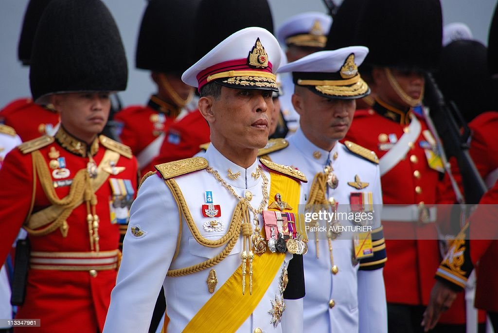 Royal Cremation Of The Princess <a gi-track='captionPersonalityLinkClicked' href=/galleries/search?phrase=Galyani+Vadhana&family=editorial&specificpeople=4783415 ng-click='$event.stopPropagation()'>Galyani Vadhana</a> In Bangkok, Thailand On November 15, 2008 - Thailand's Crown Prince <a gi-track='captionPersonalityLinkClicked' href=/galleries/search?phrase=Maha+Vajiralongkorn&family=editorial&specificpeople=584948 ng-click='$event.stopPropagation()'>Maha Vajiralongkorn</a>, walks in the procession.