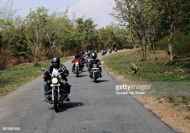 Royal enfield group riding April 2010 near Ooty