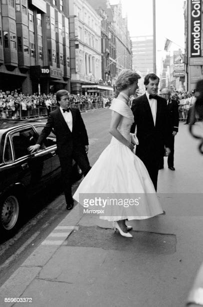 The Princess of Wales Princess Diana attends the performance of the ballet La Bayadere at The London Coliseum in London Ken Wharfe Diana's bodyguard...