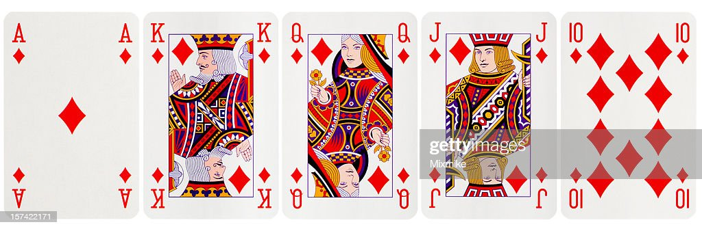 Royal Flush Diamonds