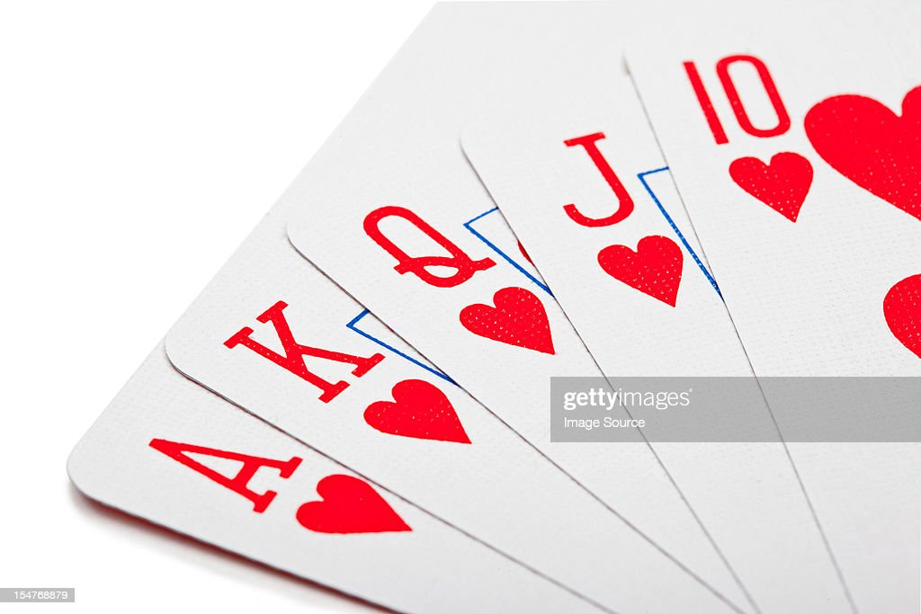Royal flush : Stock Photo