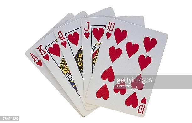 Royal flush , poker hand