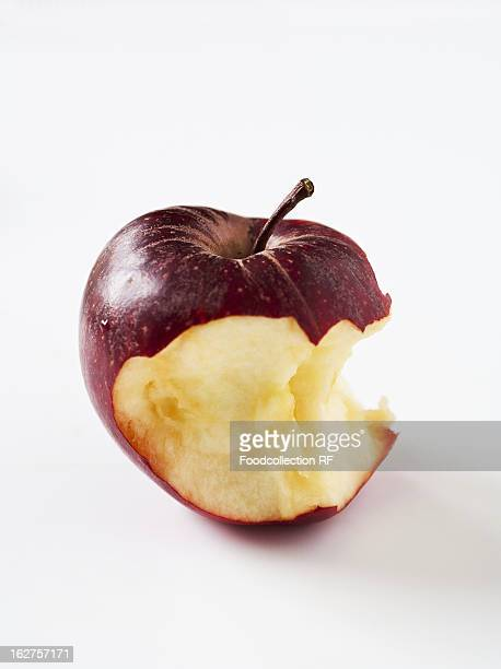 Royal Gala apple bitten