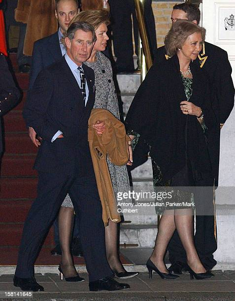 Royal Guests Leave Their Hotel Head Off For An Evening Of Celebration At The Amsterdam ArenaThe Day Before The Wedding Of Crown Prince...