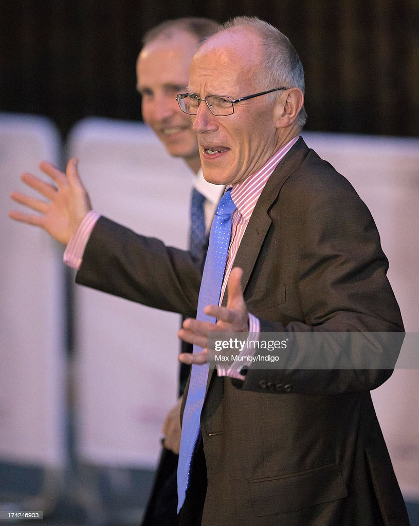 Royal gynaecologist Marcus Setchell leaves the Lindo Wing following the birth of the son of The Duke and Duchess of Cambridge at St Mary's Hospital on July 22, 2013 in London, England.