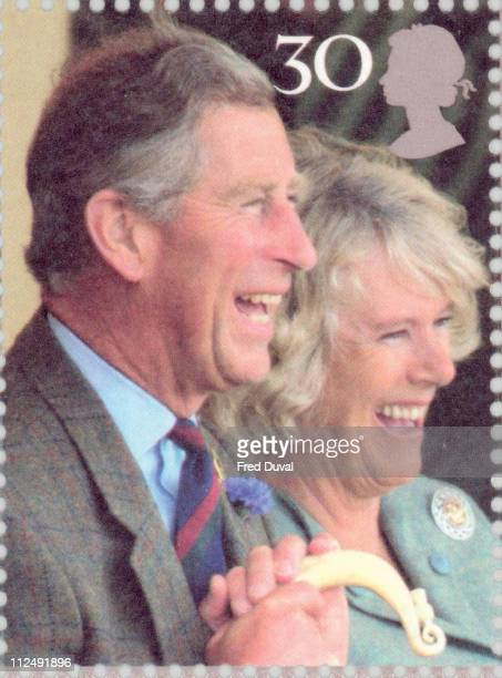 Royal Mail has unveiled a set of stamps to commemorate the forthcoming marriage of HRH Prince Charles and Mrs Camilla Parker Bowles They will be on...