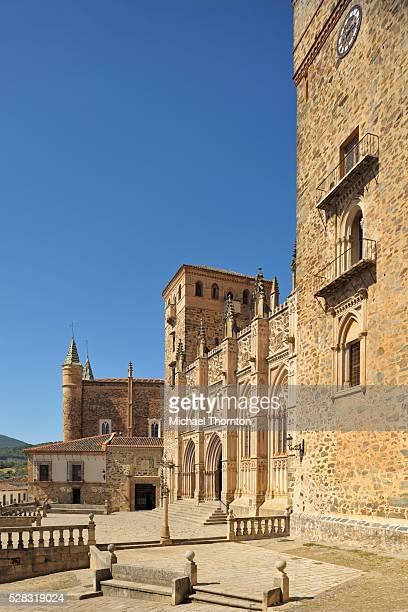 Royal Monastery Of Santa Maria De Guadalupe; Guadalupe Caceres Extremadura Spain