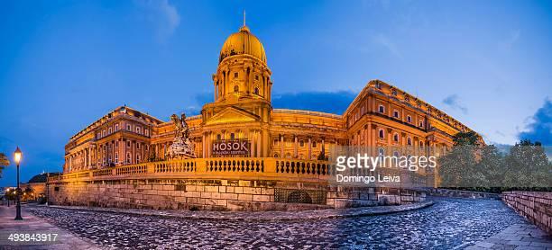 Royal Palace, Budapest, Hungary.