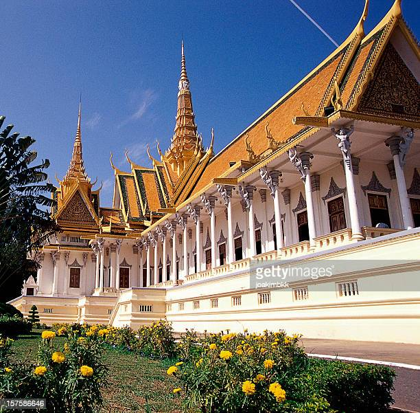 Royal Palace in Phnom Penh in Cambodia
