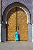 Royal Palace main doors Fez, Morocco