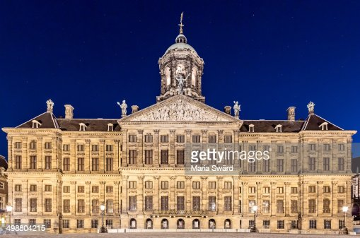 Royal Palace of Amsterdam, the Netherlands