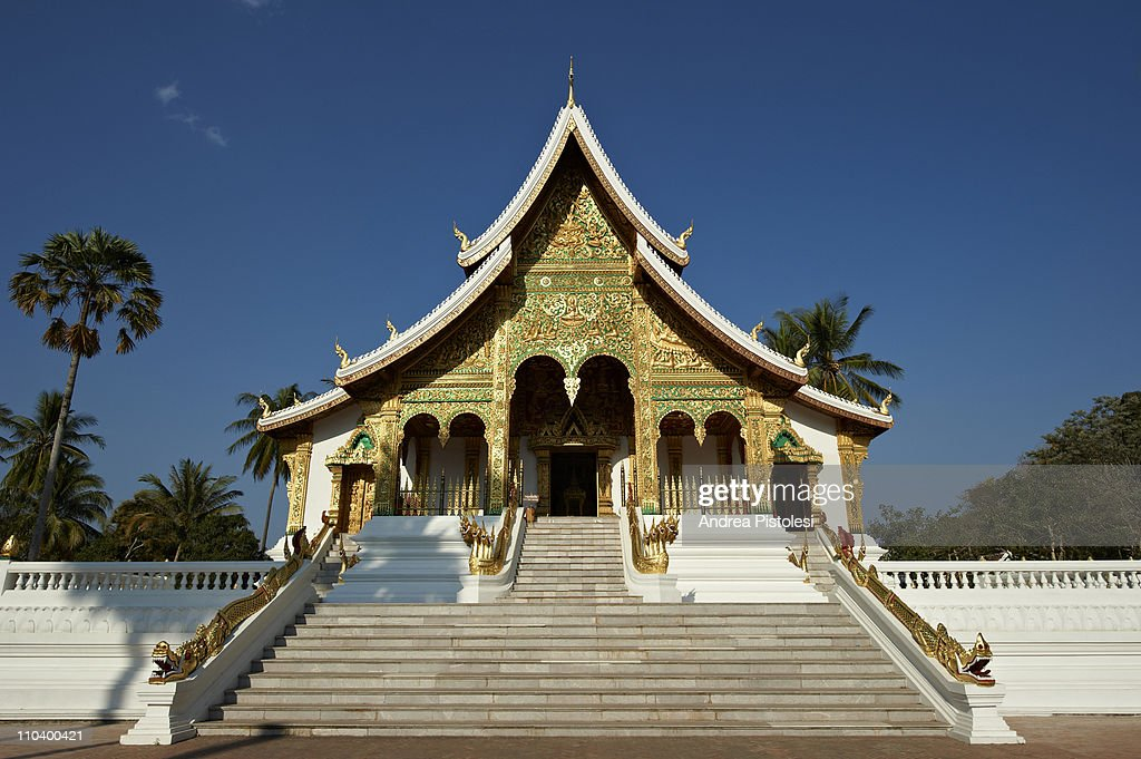 Royal Palace Pavillon, Luang Prabang : Stock Photo