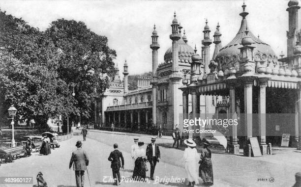 Royal Pavilion Brighton East Sussex c1900sc1920s The Royal Pavilion was originally built in 178687 by Henry Holland for King George IV then Prince...