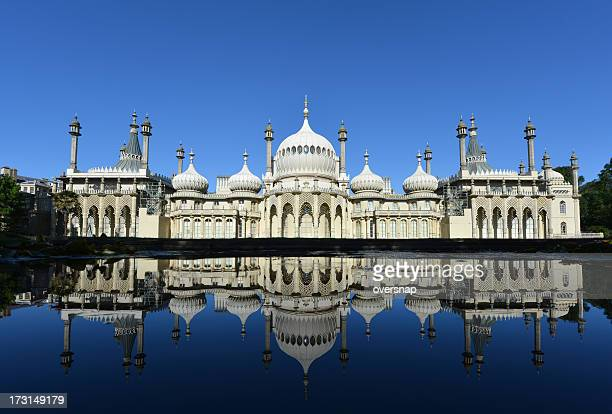 Royal Pavilion reflected