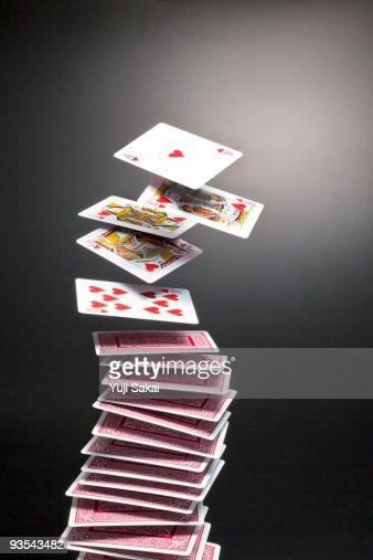 royal straight flash : Stock Photo