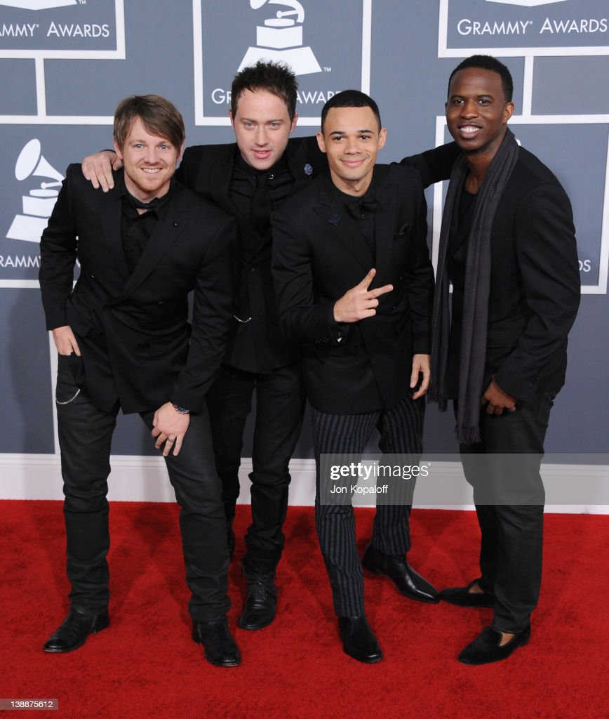 Royal Tailor arrive at 54th Annual GRAMMY Awards held the at Staples Center on February 12, 2012 in Los Angeles, California.
