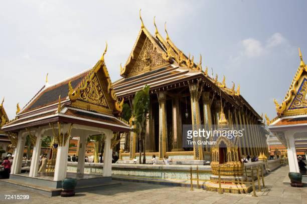 Royal Temple of the Emerald BuddhaWat Phra Keow and Salarai Bangkok Thailand