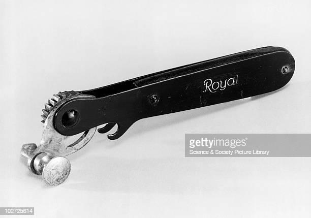 'Royal' tinopener for large tins c1940 'Royal' tinopener for large tins c 1940