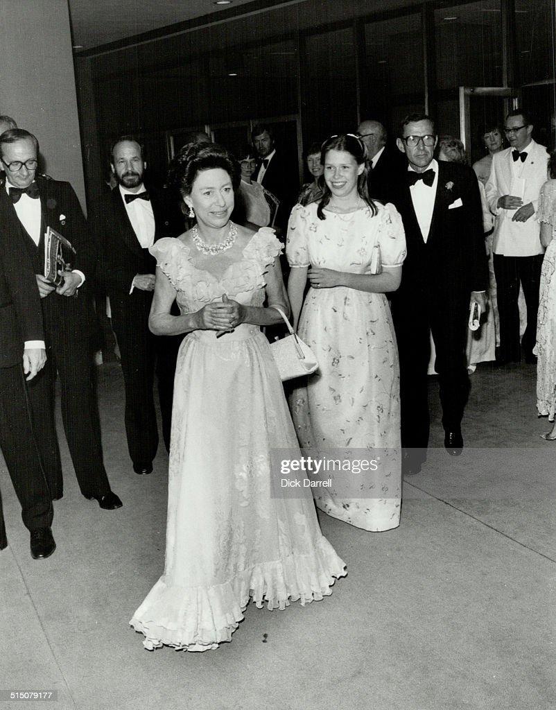Royal Tours Princess Margaret and Lady Sarah